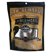 Northwest Naturals Freeze-Dried Turkey Necks for Dogs, 6-oz Bag