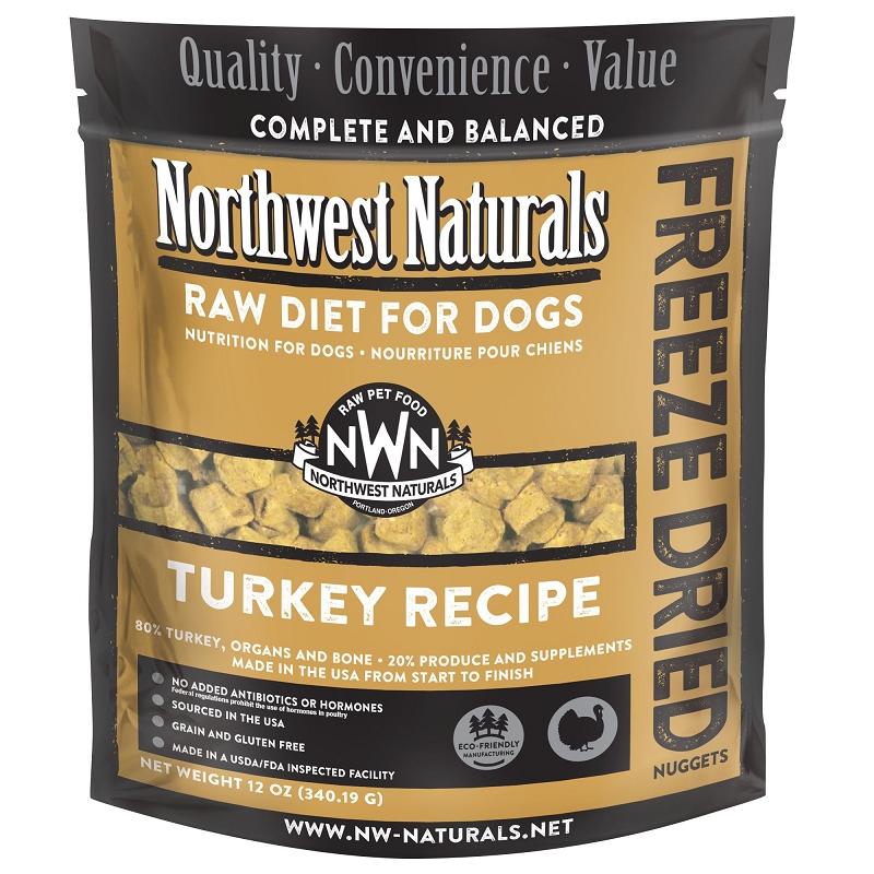 Northwest Naturals Turkey Recipe Freeze Dried Dog Food