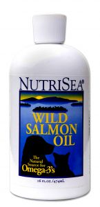 NutriSea Wild Salmon Oil For Dogs and Cats 16 oz