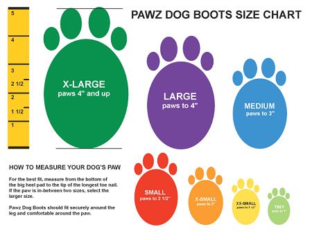 Pawz Extra-Small Orange Waterproof Dog Boots  fc523ab474fd