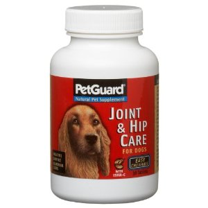 Pet Guard Hip and Joint Care Dog Supplement