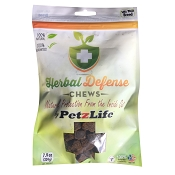 Petzlife Herbal Defense Tick & Biting Insect Repellent Soft Chews for Dogs, SM - MED Breed