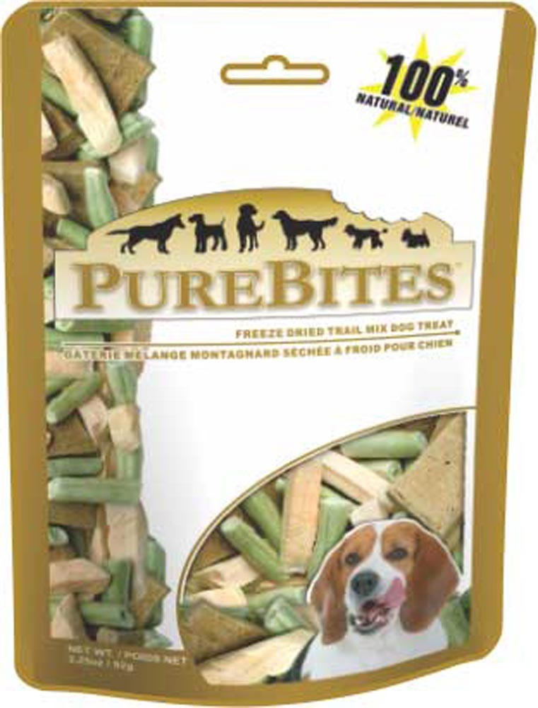 PureBites Trail Mix Freeze-Dried Dog Treats, 3.25 Ounces