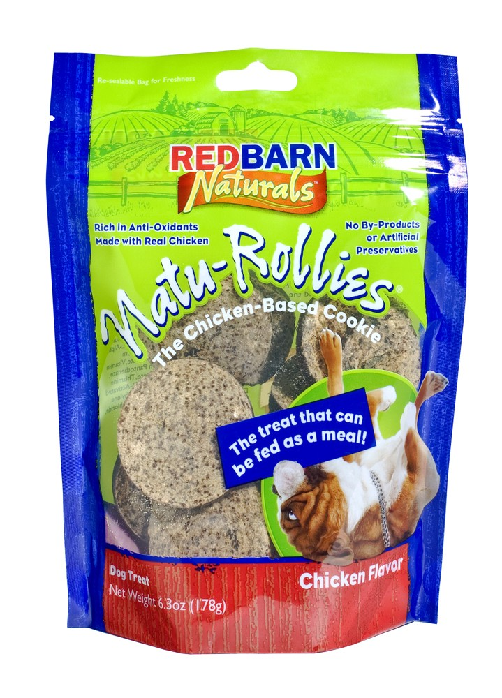 Red Barn  Natu-Rollies Dog Treats, 6.3 Ounces