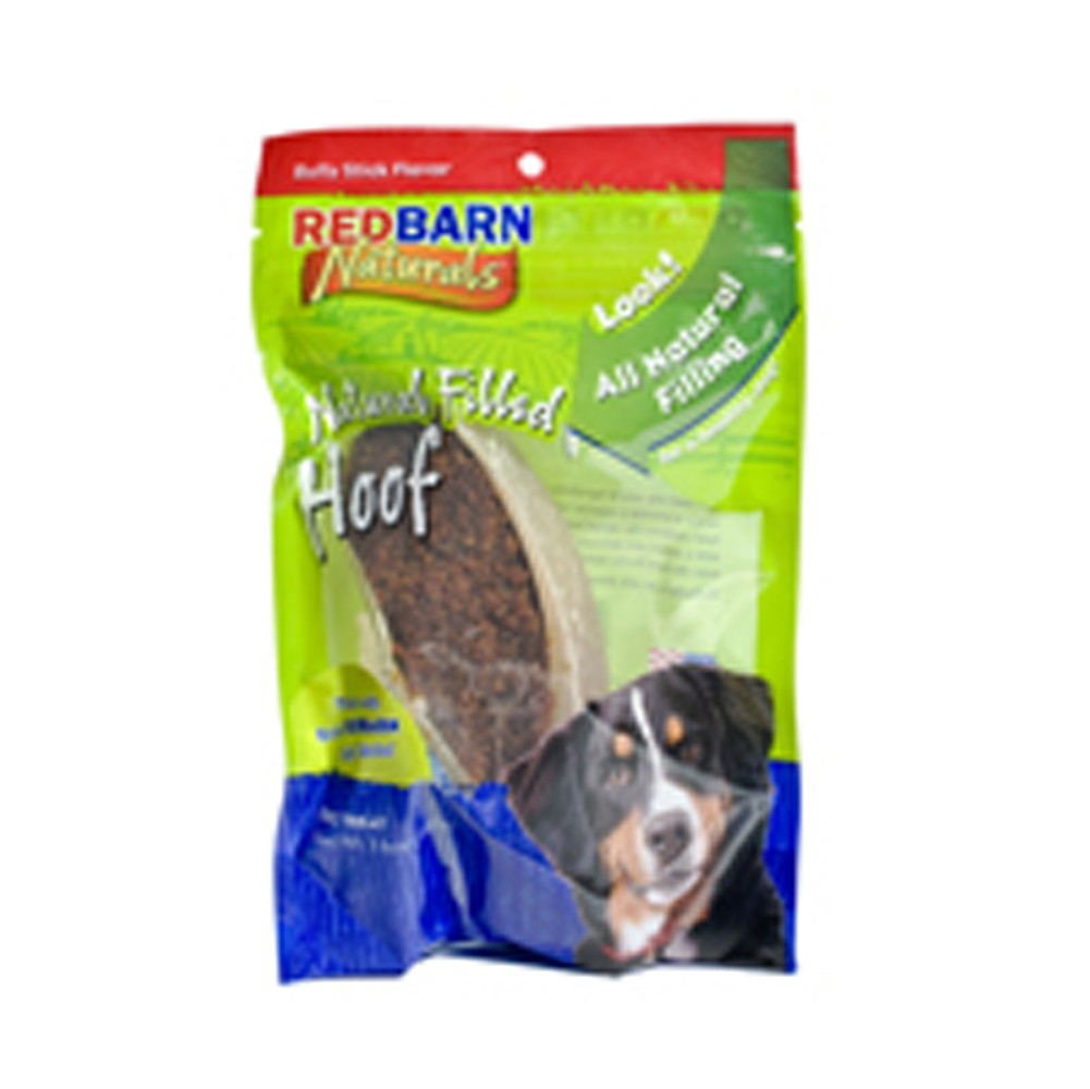 Red Barn Natural Filled Hoof Dog Chew Treat