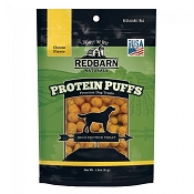 Redbarn Protein Puffs Cheese Flavor Dog Treats, 1.8-oz pouch