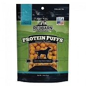 Redbarn Protein Puffs Turkey Flavor Dog Treats, 1.8-oz pouch