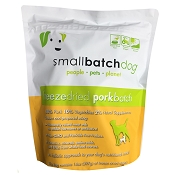 Small Batch Freeze-Dried Pork Recipe Sliders Dog Food, 14-oz Bag