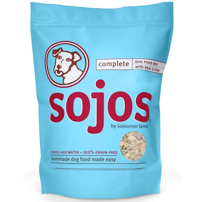 Sojos Complete Turkey Recipe Freeze-Dried Dog Food, 2 lb