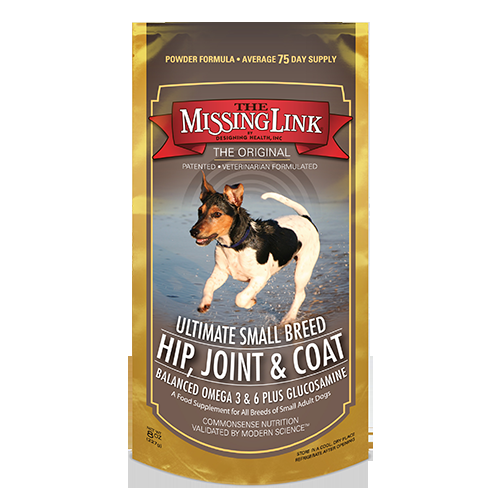 The Missing Link Ultimate Small Breed Hip, Joint, & Coat Dog Supplement