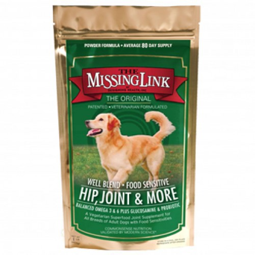 The Missing Link Well Blend Plus Food Supplement and Joint Support Dog Supplement