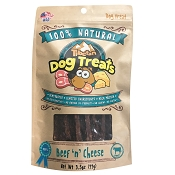 Tibetan Dehydrated Beef n Cheese Recipe Dog Treats, 3.5-oz Bag