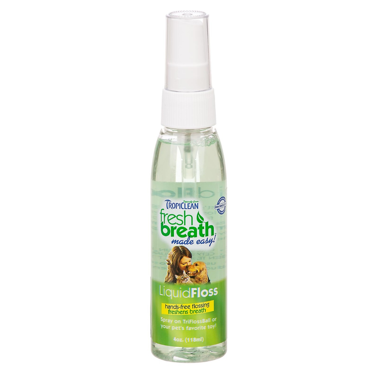 TropiClean Fresh Breath LiquidFloss Spray for Dogs