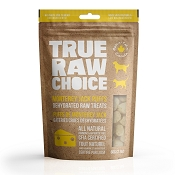 True Raw Choice Dehydrated Monterey Jack Cheese Puffs Dog Treats, 2-oz Bag