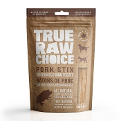 True Raw Choice Dehydrated Pork Stix Dog Treats, 4.2-oz Bag