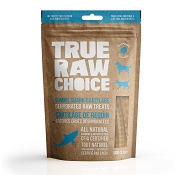 True Raw Choice Dehydrated Gummy Shark Cartilage Dog Treats, 3.5-oz Bag