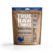 True Raw Choice Dehydrated Turkey Wings Dog Treats, 9.5-oz Bag