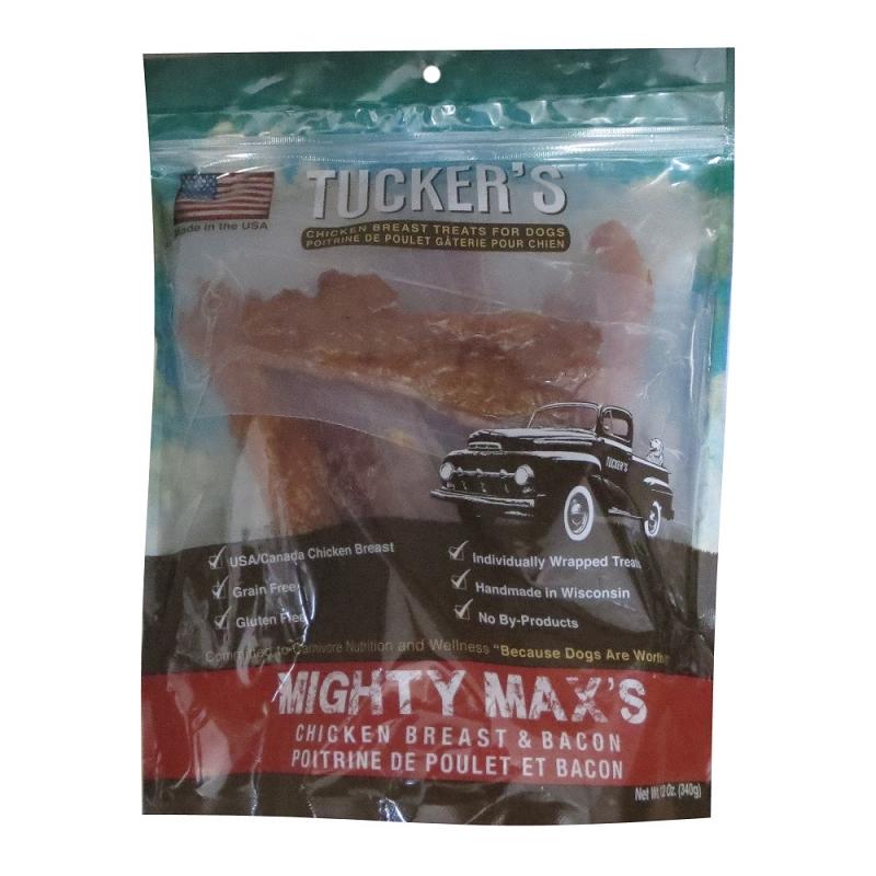 Home > Dog Treats > Tucker's Mighty Max's Chicken & Bacon J...