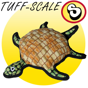 Tuffy Burtle Turtle Tough Dog Toy