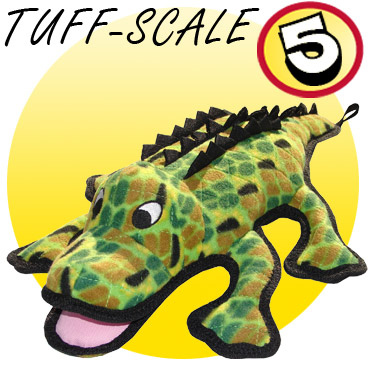 Tuffy Gary the Gator Dog Toy