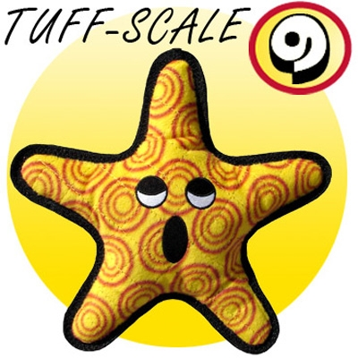 Tuffy The General Starfish Dog Toy