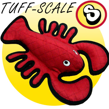 Tuffy Larry Lobster Tough Dog Toy