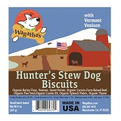 Wagatha's Hunter's Stew Recipe Dog Biscuits, 8-oz Bag
