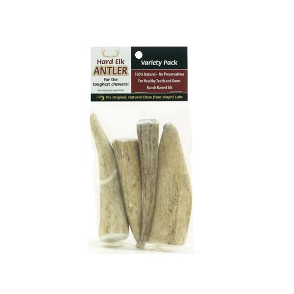wapiti labs elk antler chews variety pack dog treats. Black Bedroom Furniture Sets. Home Design Ideas