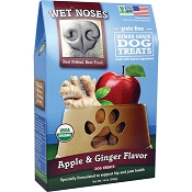 Wet Noses Apple & Ginger Flavor Organic Dog Treats, 14-oz Box