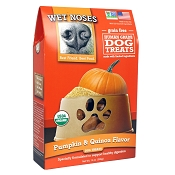 Wet Noses Grain-Free Pumpkin & Quinoa Flavor Organic Dog Treats, 14-oz Box