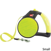 Wigzi Retractable Reflective Gel Leash for Dogs, Small
