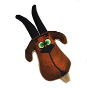American Dog Grazer the Goat Made in USA Dog Toy