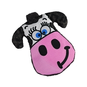 American Dog Moo-Ria the Cow Made in USA Dog Toy
