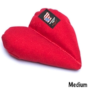 American Dog Furever Hearts Made in USA Dog Toy, Medium