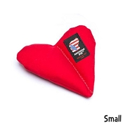 American Dog Furever Hearts Made in USA Dog Toy, Small
