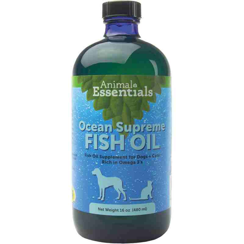 Animal essentials ocean omega supreme fish oil dog for Fish oil for dogs