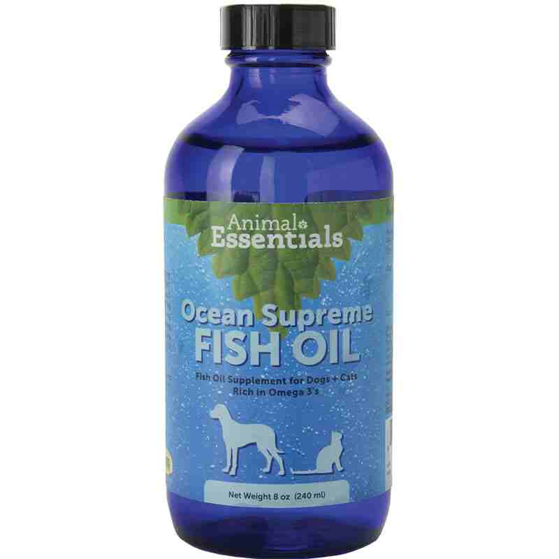 Animal essentials ocean omega fish oil supreme dog for Fish oil for dogs