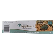 Applaws Sardine and Mackerel Peel Top Moist Cat Food, Case of 18