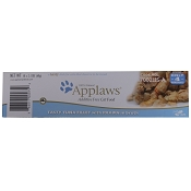 Applaws Tasty Tuna with Prawns Peel Top Moist Cat Food, Case of 18