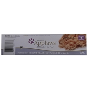Applaws Tender Chicken Breast and Tuna Roe Peel Top Cat Food, Case of 18