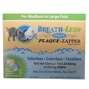 Ark Naturals Breath-Less Plaque Zapper For Medium to Large Dogs