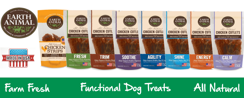 Earth Animal USA Chicken Jerky Dog Treats
