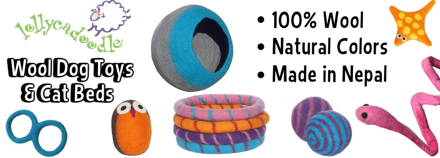 Lollycadoodle Wool Dog Toys & Cat Beds