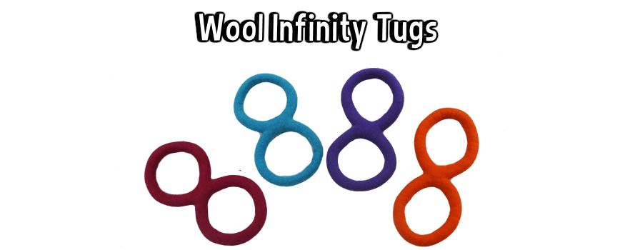 Lollycadoodle Wool Infinity Tug Dog Toys