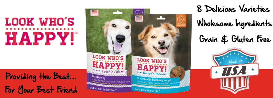 Introducing Look Who's Happy Dog Treats
