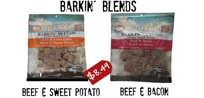 Tucker's Barkin' Blends Freeze-Dried Dog Treats