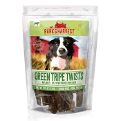 Bark & Harvest Green Tripe Twists Dog Treats, 9 Twists