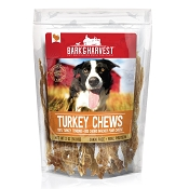 Bark & Harvest Turkey Chews Dog Treats, 2-oz Bag