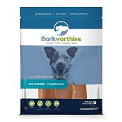 Barkworthies Big Cheese Dog Treats, Value Pack