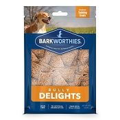 Barkworthies Bully Delights Training Treats for Dogs, 8-oz Bag